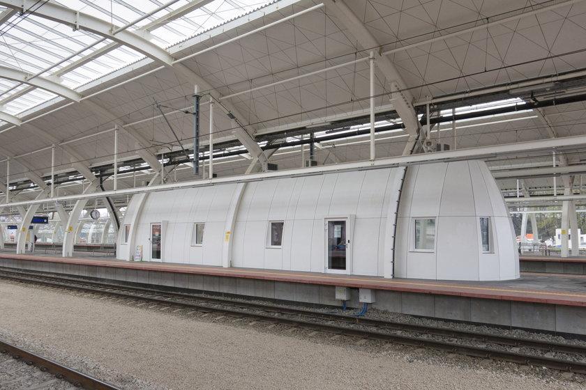 Nowe perony na dworcu kolejowym w Gliwicach