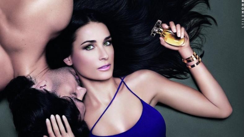 Demi Moore w reklamie kosmetków Helena Rubinstein