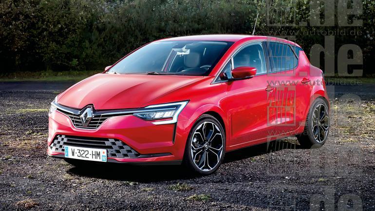Renault Clio V - wizualizacja