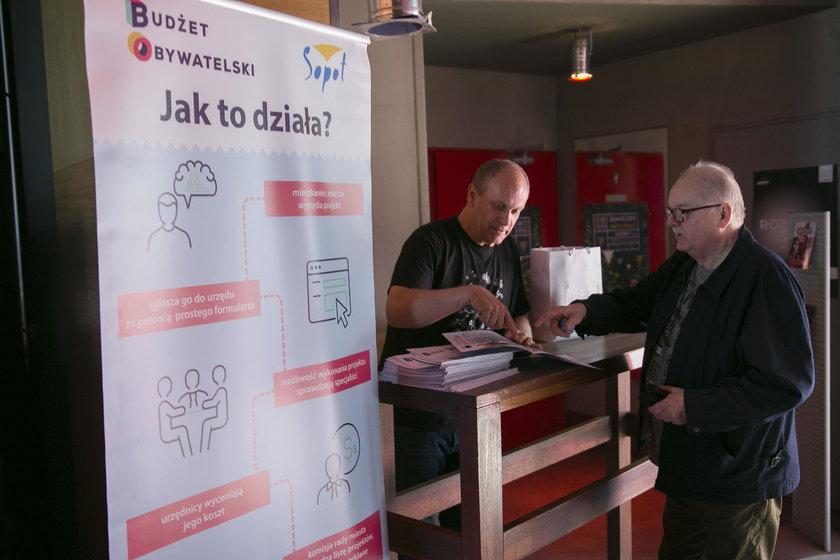 Punkt Informacyjny - Budżet Obywatelski Sopot
