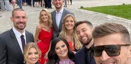 Polscy siatkarze i ich piękne partnerki na weselu u Bieńka. Po zdjęciach widać, że zabawa musiała być przednia