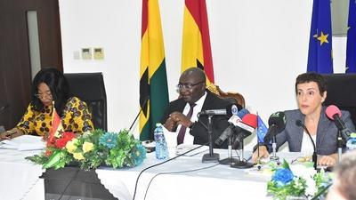 Ghana no longer on EU's money laundering list