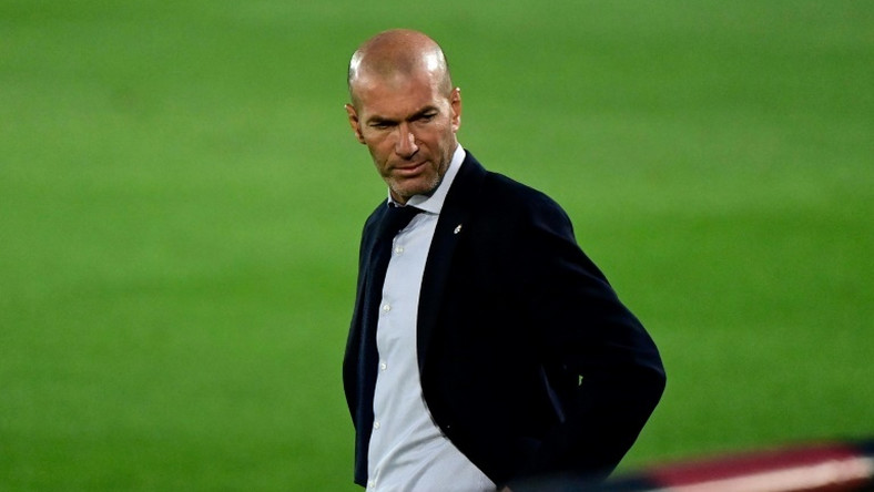 Zinedine Zidane returned as Real Madrid coach in March last year.