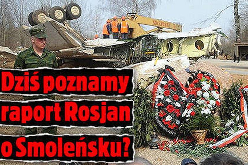 W środę poznamy raport Rosjan o Smoleńsku?