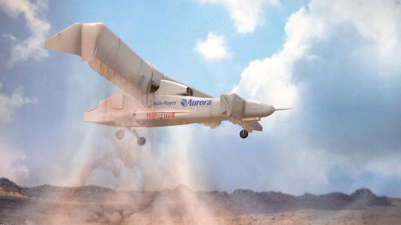 XV-24A LightningStrike - DARPA testuje elektryczny samolot