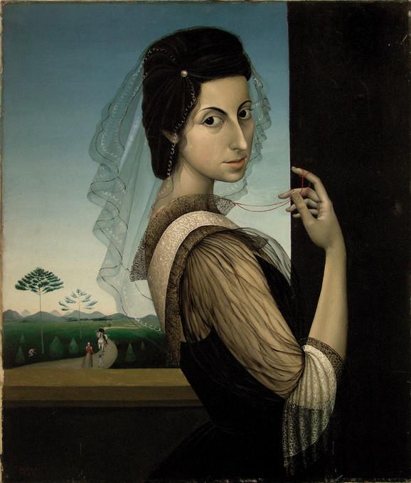Autoportret sa velom
