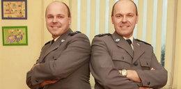 Policjanci bliźniacy zrobili kierowcy wodę z mózgu!