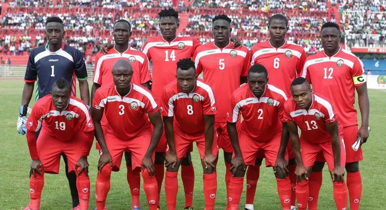 Kenya's Harambee Stars has maintained its 87th position in the latest FIFA rankings.