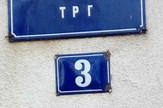 šumadijski trg tabla adresa beograd