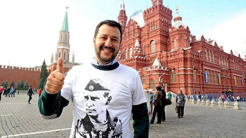Matteo Salvini. Kim jest jeden z sojuszników Kaczyńskiego w UE? - Wiadomości