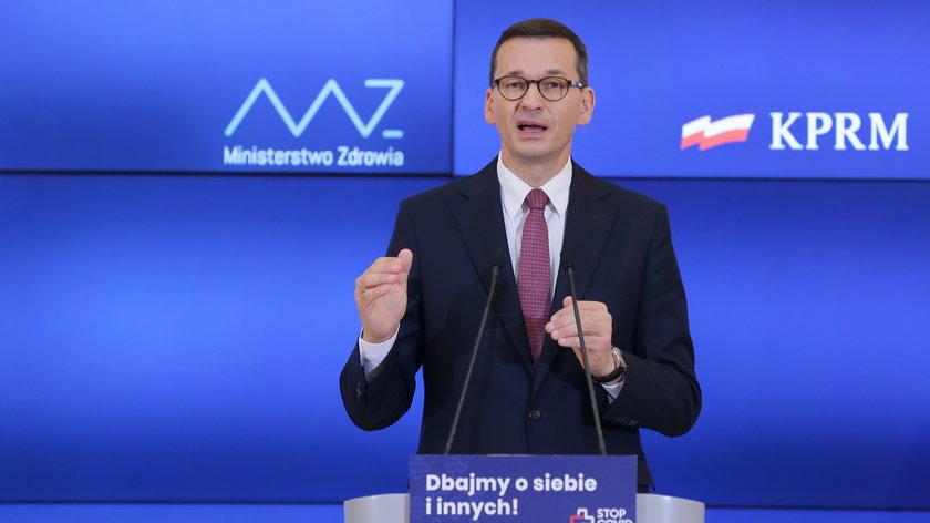 Premier: przebudowujemy system podatkowy, żeby był sprawiedliwy