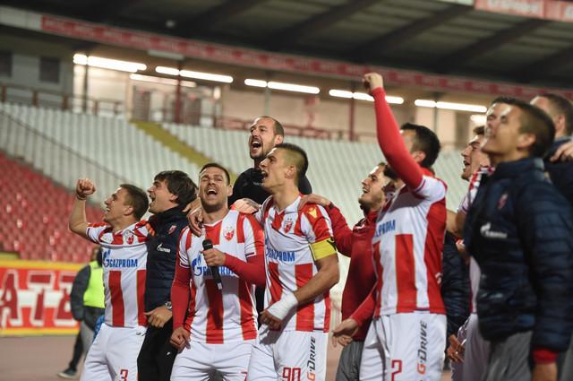 Fudbaleri Crvene zvezde su osvojili domaći šampionat