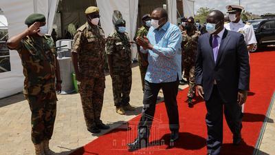 Uhuru Commissions Small Arms Factory in Ruiru