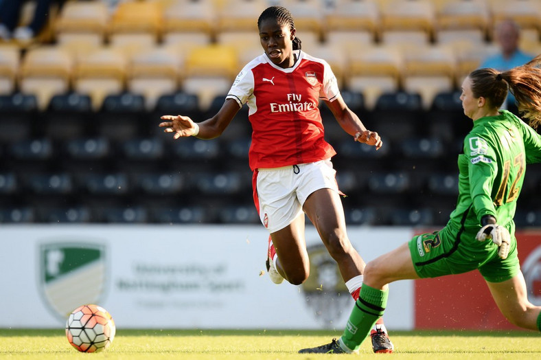 Asisat Oshoala has played for a couple of high-profile clubs like Liverpool Ladies, Arsenal and Barcelona