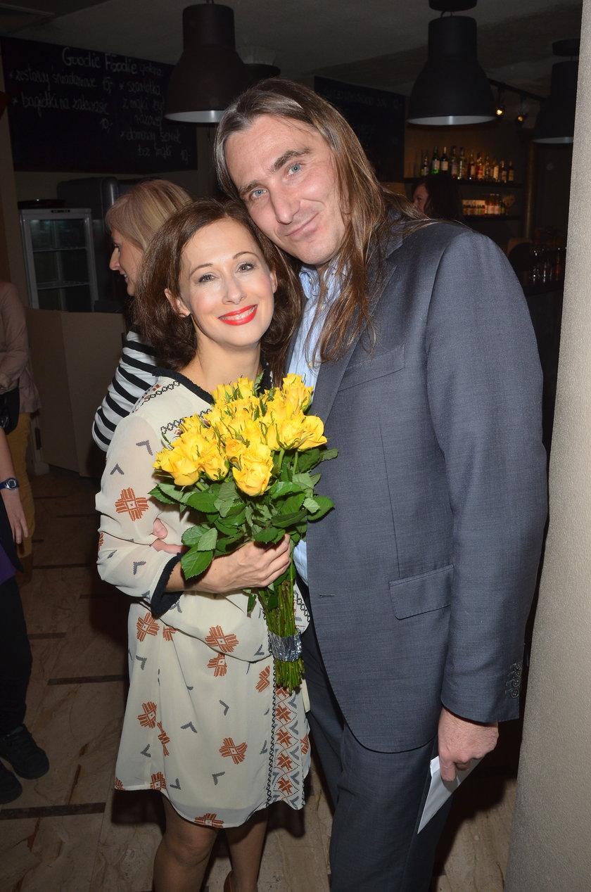 Jolanta Fraszyńska i Tomasz Zieliński