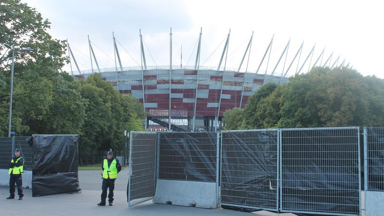 Szczyt NATO Stadion Narodowy Warszawa. Piotr Halicki