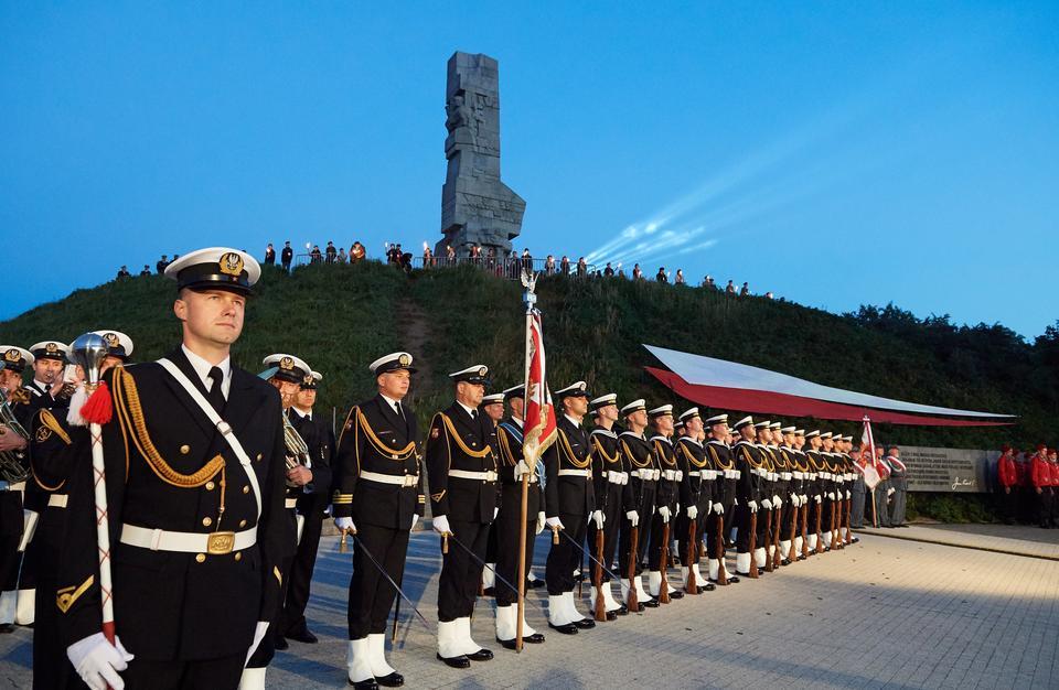 Obchody 77. rocznicy wybuchu II wojny światowej na Westerplatte