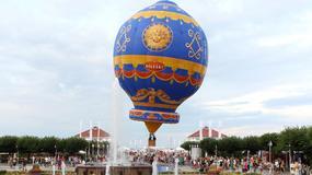 Replika balonu braci Montgolfier w Sopocie