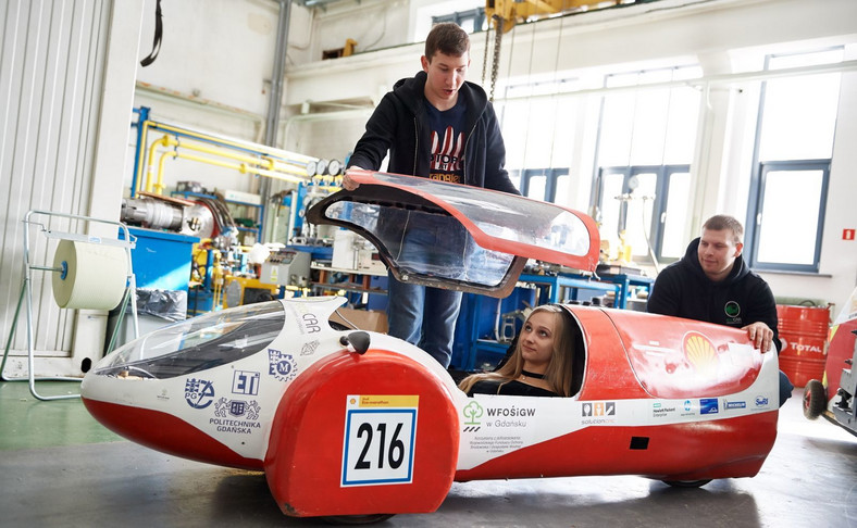 Studenci Politechniki Gdańskiej budują auto napędzane wodorem