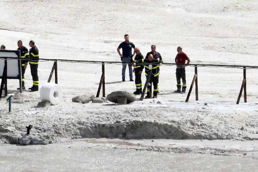 Koszmarny wypadek we Włoszech. Rodzina wpadła do krateru wulkanu