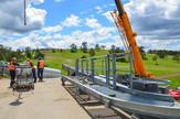 Radovi na montaži zlatiborske gondole