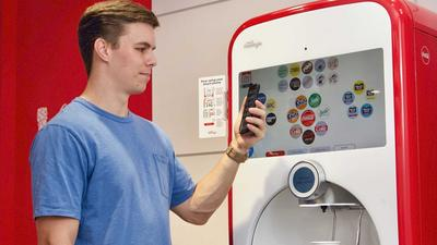 Coca-Cola reveals a touch-free Freestyle machine, as restaurants ditch soda fountains during the pandemic