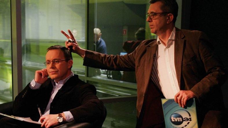 Szkło kontaktowe w TVN24 - jeden z najbardziej dochodowych programów