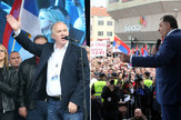 Dragan Cavic Milorad Dodik protesti miting maj 2016
