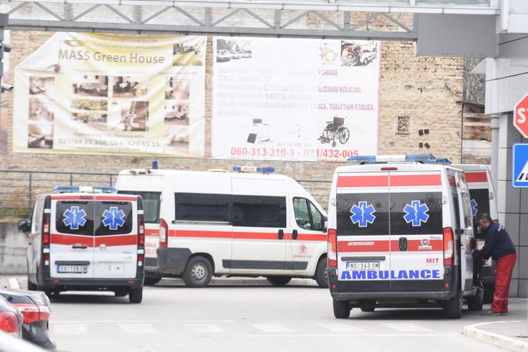 Novi Sad 2100 klinicki centar vojvodine kcv korona virus foto Nenad Mihajlovic