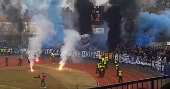 Navijači Dinama iz Zagreba,