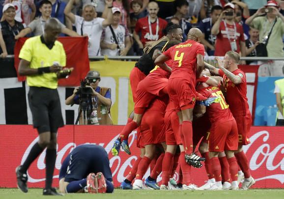 Slavlje Belgijanaca u osmini finala Mundijala