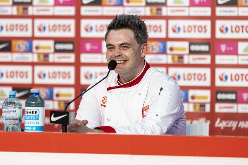 Tomasz Leśniak od lat jest kucharzem kadry piłkarskiej.