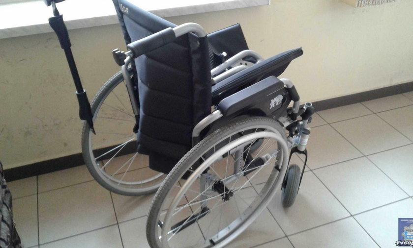 Zakopane. Uciekł ze szpitala kradzionym wózkiem inwalidzkim