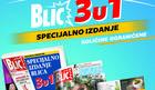 """Od sutra """"Blic 3 u 1"""" specijalno nedeljno izdanje"""