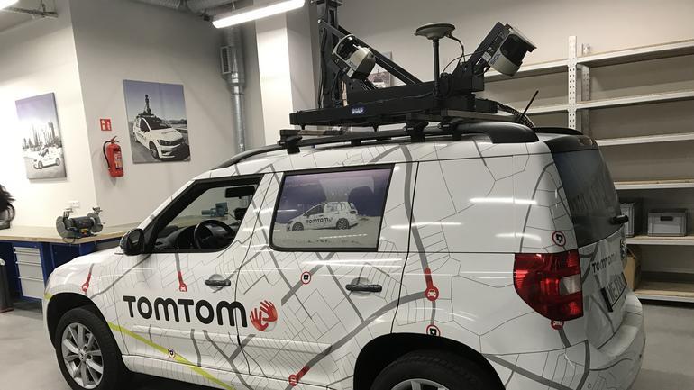 TomTom - nowy samochód do zbierania danych mapowych. Także dla aut autonomicznych