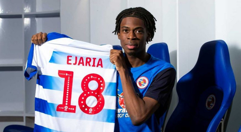 English Championship side Reading sign Nigerian-born Ovie Ejaria on loan from Liverpool