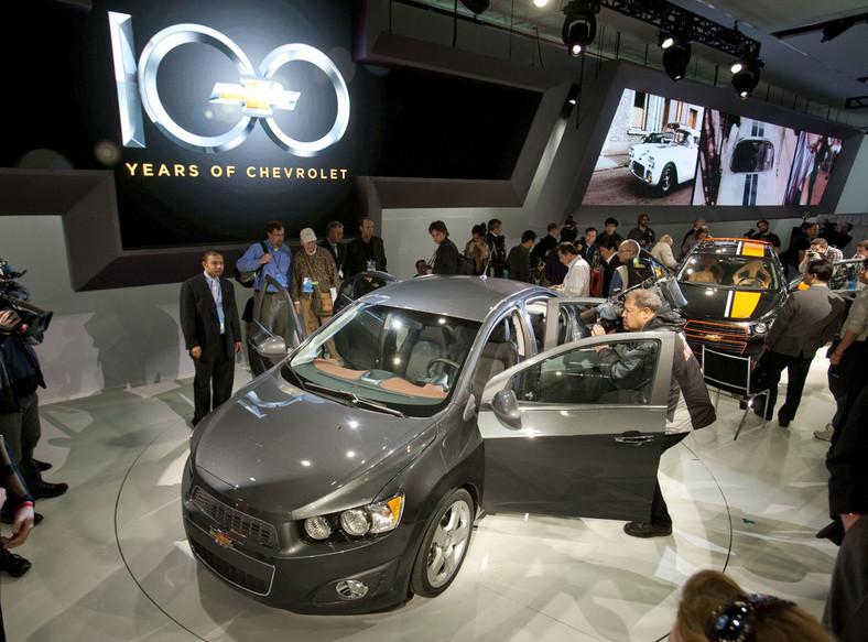 Chevrolet aveo w wersji sedan także będzie jedną z gwiazd szwajcarskiej wystawy