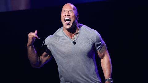 Aktor Dwayne The Rock Johnson wciela się zazwyczaj w role bohaterów z dominującą osobowością