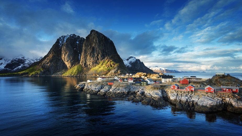 Lofoty. Norwegia