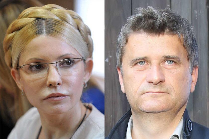 Julia Tymoszenko i Janusz Palikot