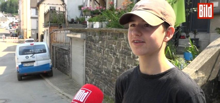 Nastolatek z Polski bohaterem w Niemczech. Uratował życie człowieka