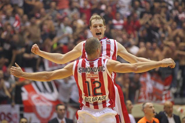 Jaka Blažič i Marko Simonović nekada u crveno-belom, a sada protiv crveno-belih