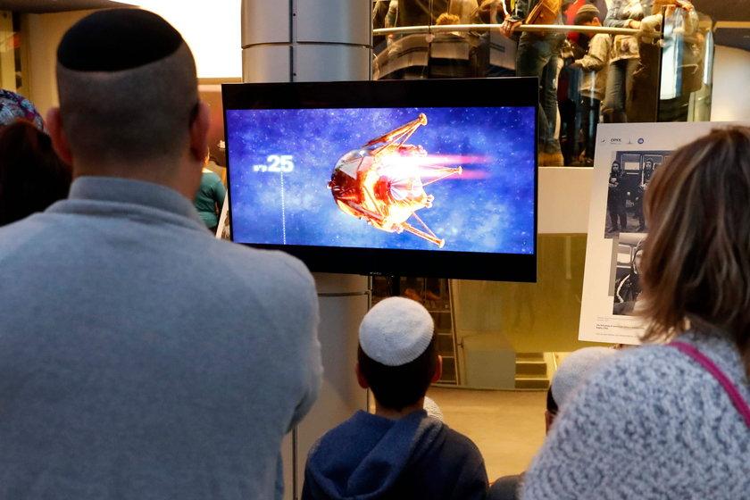 Nieudany podbój kosmosu. Izraelski statek rozbił się o Księżyc