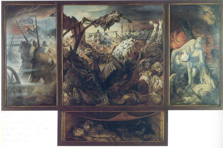 slika oto diks arhivska fotografija wikiart.org Otto Dix