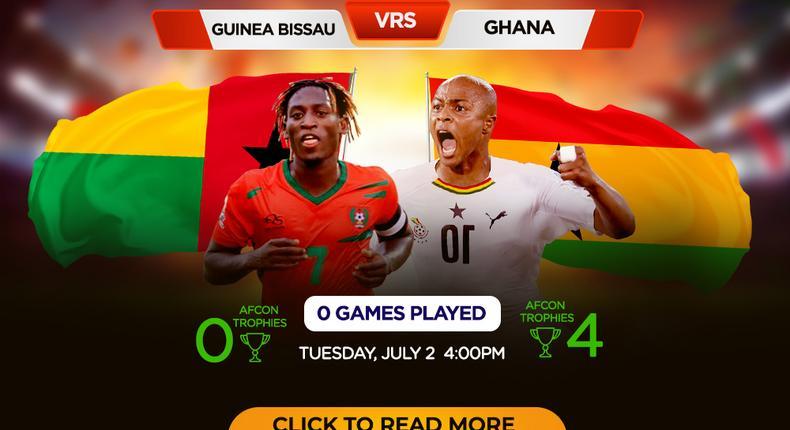 AFCON 2019: Guinea-Bissau vs Ghana