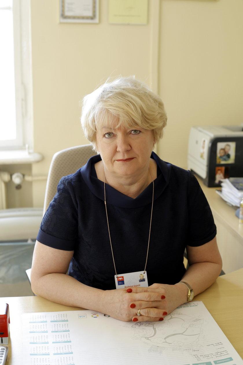 Bożena Szpek, kierownik działu programów rynku pracy w urzędzie pracy w Gdańsku