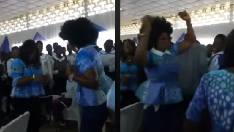 Excited journalist falls and dies while dancing at her school's reunion party (video)
