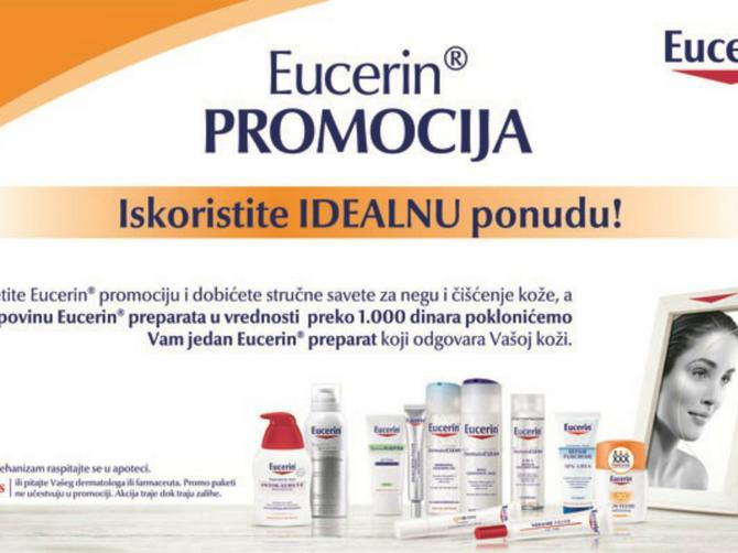 Eucerin promocije: Idealna ponuda za idealno zdravlje i lepotu vaše kože!