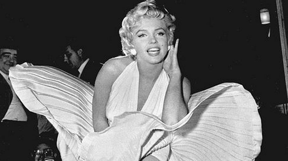 Marilyn Monroe to jedna z najbardziej rozpoznawalnych aktorek - domena publiczna