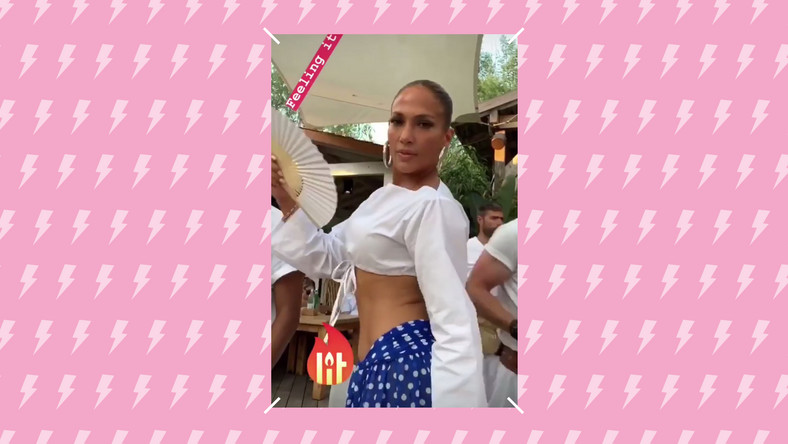 Jennifer Lopez Just Flaunted Her Toned Abs While Dancing In